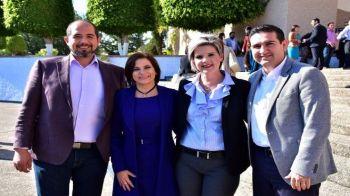 DIF Abasolo Ruben Calva, Maru Carreño y Alfoso Borja