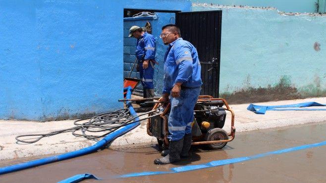 Apoyo limpieza cisternas Infonavit Solidaridad (1)
