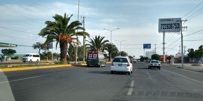 Dos ambulancias trasladaron a los militares lesionados