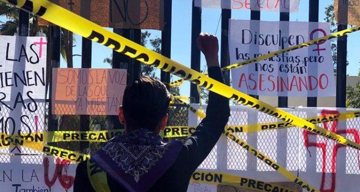 Protesta UG en Guanajuato