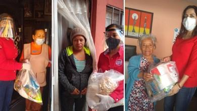 Photo of Llevan despensas a familias en Cabecera Municipal