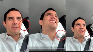 Photo of No usa cubrebocas, pero el celular mientras maneja: diputado Irapuato