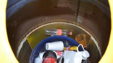 Photo of Utilizan contenedor de residuos de aceite como «bote de basura»