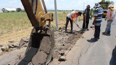 Photo of Comienzan trabajos de rehabilitación de La carretera pueblo nuevo-la purísima