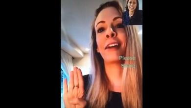Photo of Mujer víctima de violencia hace «la señal de auxilio» en videollamada con una amiga