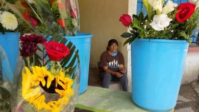"""Photo of """"He vendido 100 pesos diarios si bien nos va"""": florista del panteón de los Olivos"""