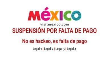 Photo of VisitMexico señala que página web fue hackeada, no suspendida por falta de pago