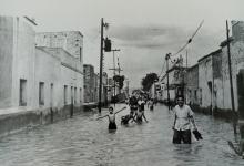 Photo of Así lucía la calle Álvaro Obregón durante la inundación de 1958 en Salamanca