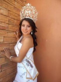 Reina de Huanimaro en 2011. Karina