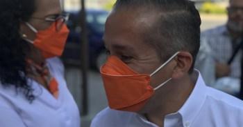 Paco Martinez en su inicio de campaña por la presidencia de Irapuato. Foto Francisco Somoza