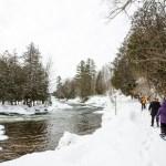 Snowshoeing Ontario: A Riverside Trail in Haliburton