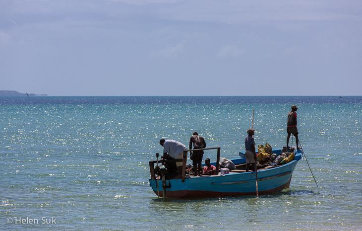 fishermen, mosambiek, vilankulo, mozambique