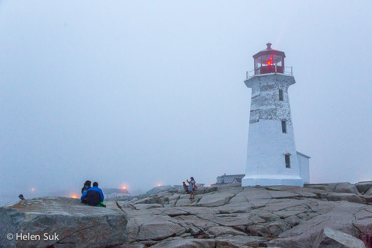 peggys point lighthouse at peggys cove