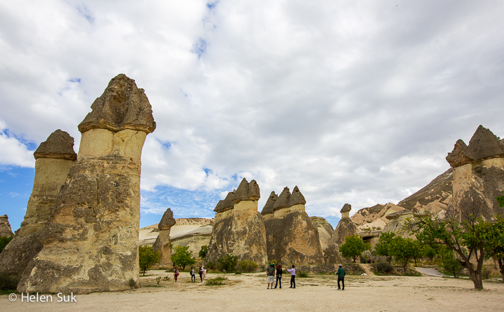 fairy chimneys in pasabag cappadocia