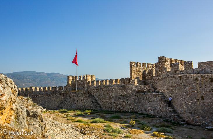 ayasuluk castle in selcuk turkey