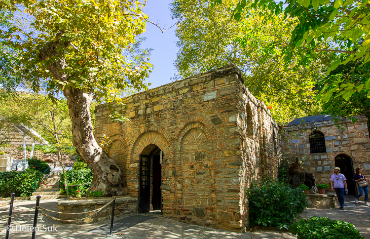 house of the virgin mary in selcuk turkey