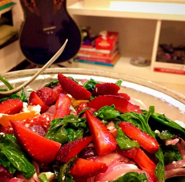 Yummilicious salad: a perfect accompaniment to any protein