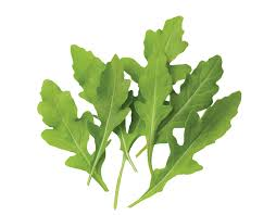 Arugula leaves: peppery , earthy flavours