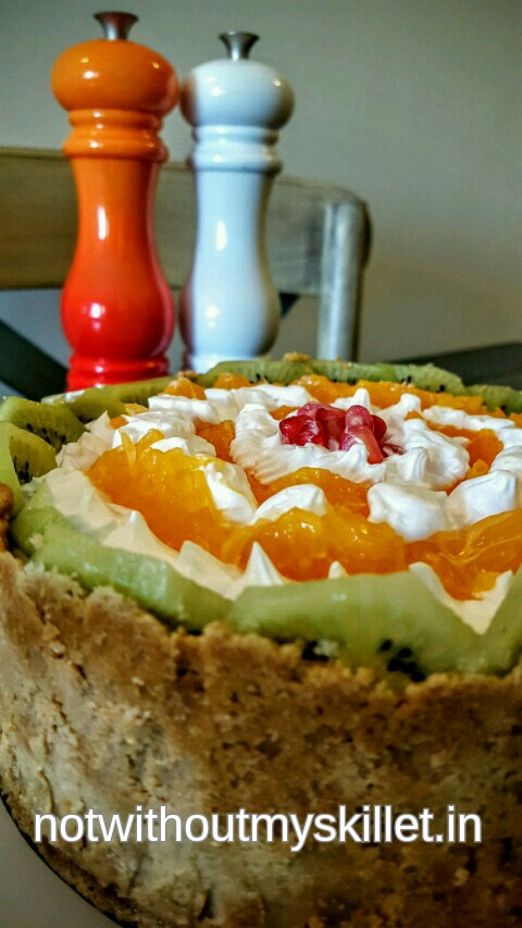 Celebrate summer with a fresh fruit chiffon pie