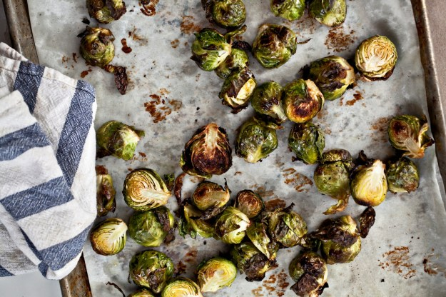 Brussels sprouts with white beans and pecorino - Not ...
