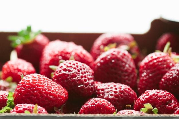 Roasted Strawberry Milkshake // Not Without Salt