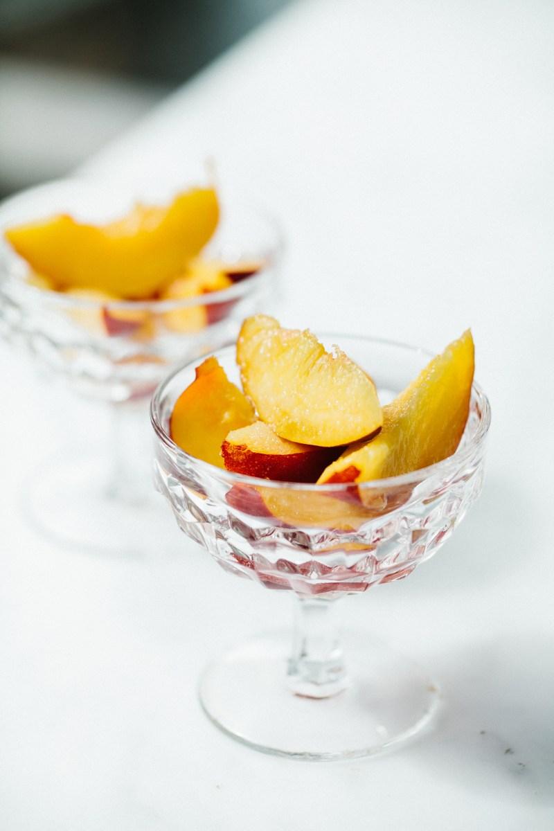 Stone Fruit in Red Wine // Notwithoutsalt.com