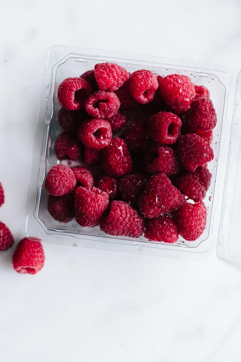 Lemon Cake with Fresh Raspberries // Not Without Salt