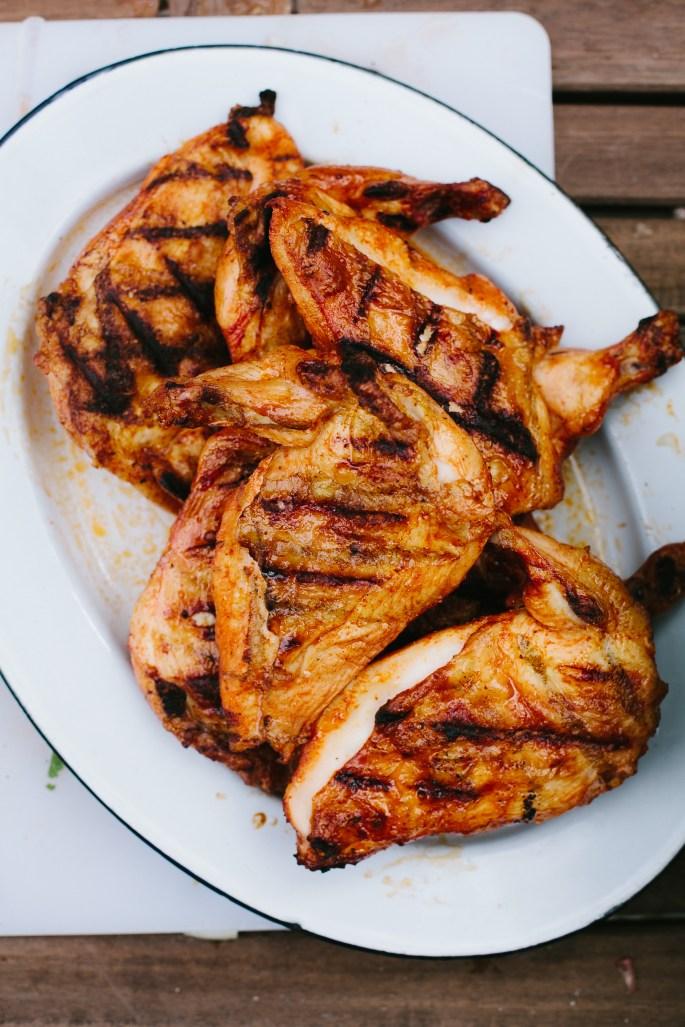 Smoked Chicken & Chorizo Panzanella // Not Without Salt
