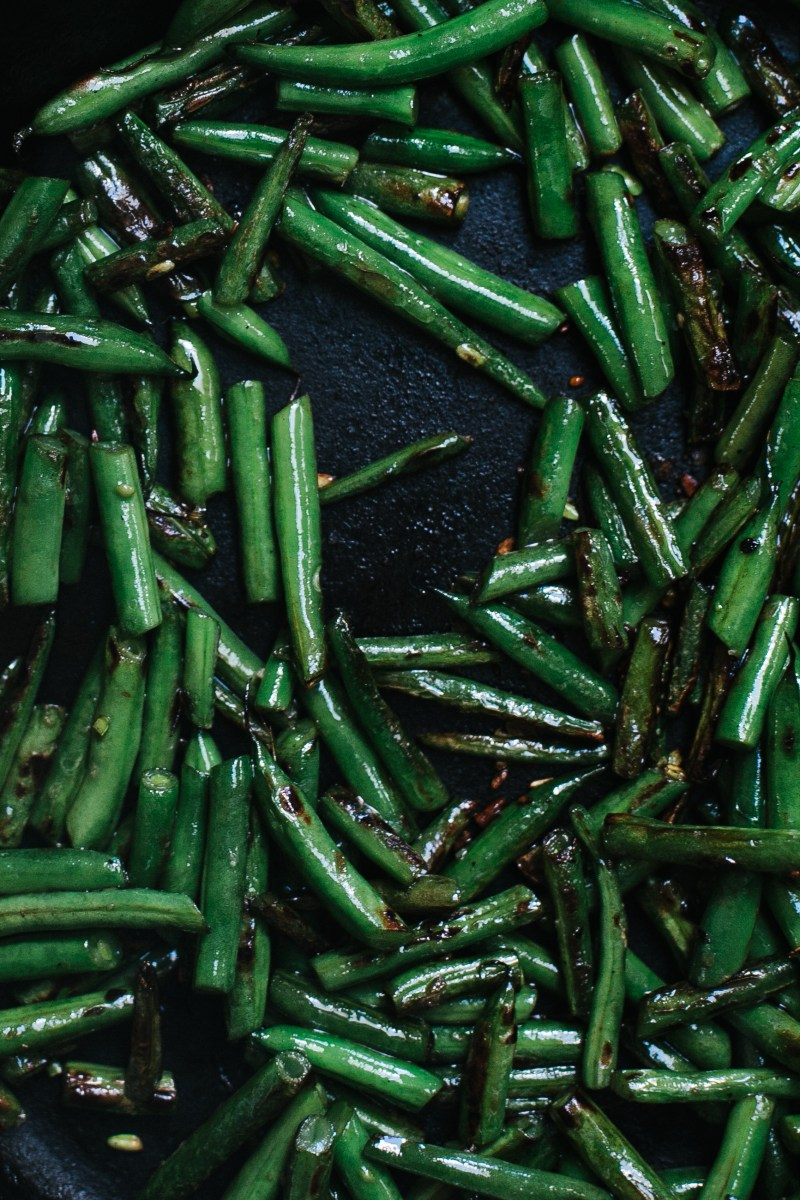 Charred Green Beans // Notwithoutsalt.com