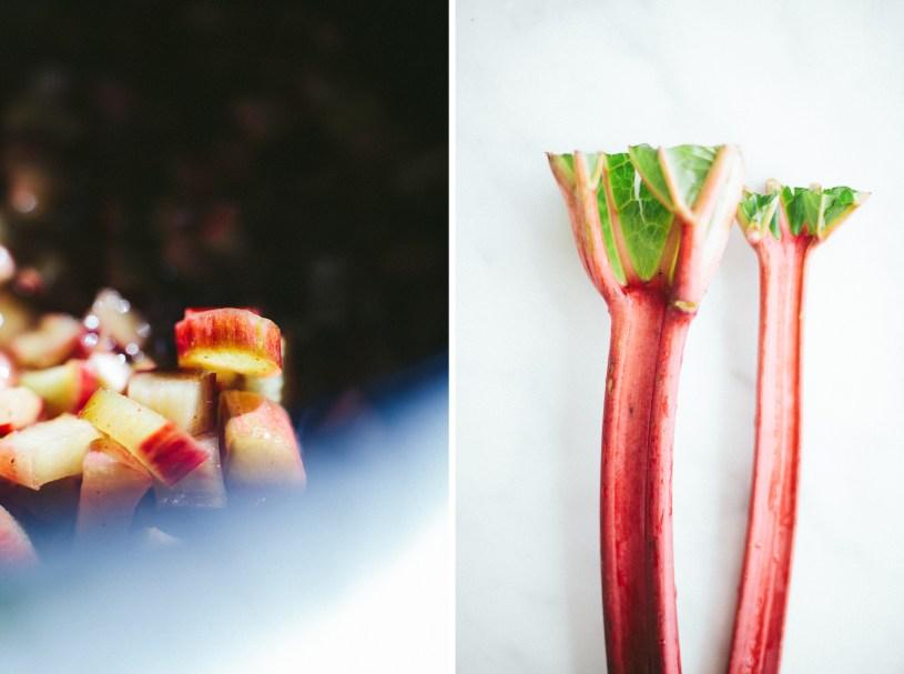 Rhubarb Fritters // NotWithoutSalt.com