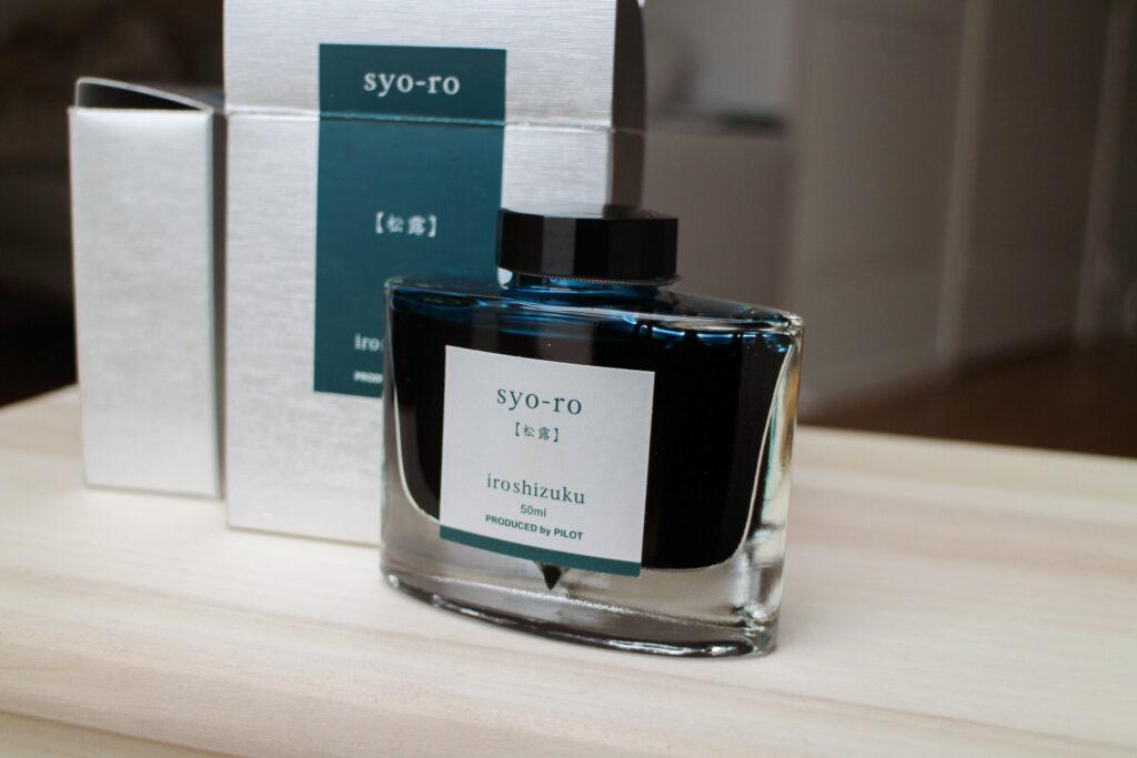 Syo-ro by Iroshizuku - Teal fountain pen ink
