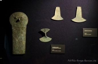 Samples of small metal work at the Casa de la Cultura.