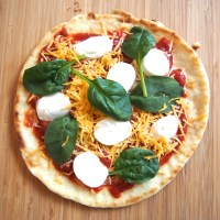 Easy Personal Flatbread Pizzas
