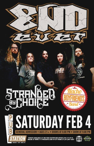 Endever Stranded by Choice Not Your Boyfriends Band
