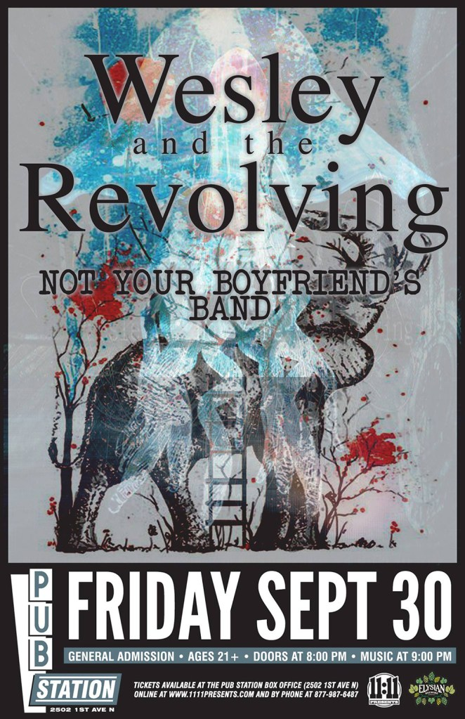 Not Your Boyfriends Band Debut Concert Billings Montana