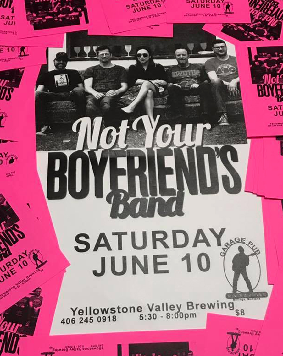 Billings Rock NYBB Not Your Boyfriend