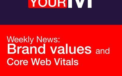 Brand values and Core Web Vitals