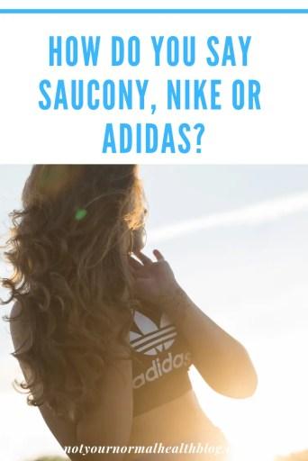 Girl in Adidas top