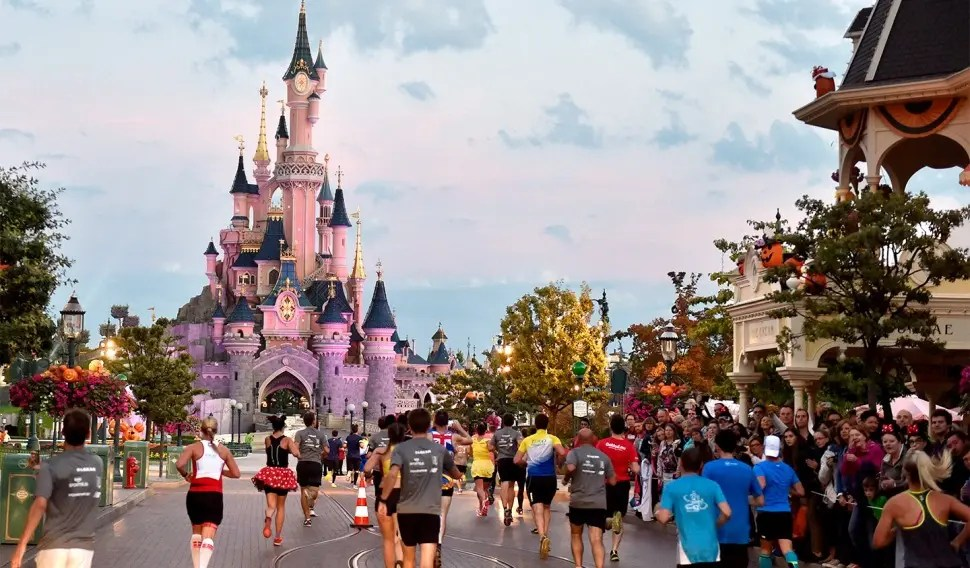Disneyladn Paris 10k run