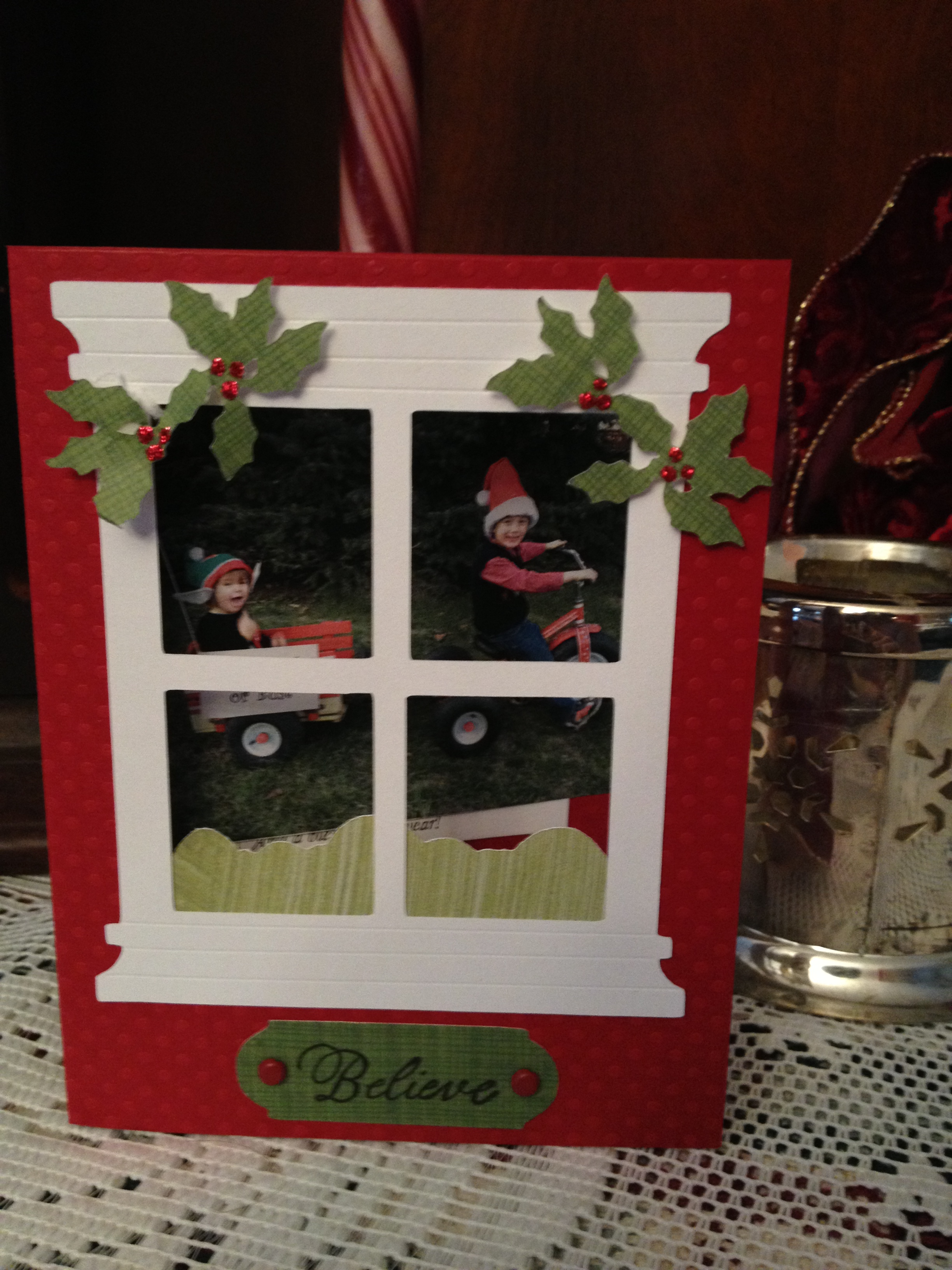 Window Frame Christmas Card Not Your Normal Steam