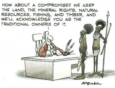 Aboriginal cartoon