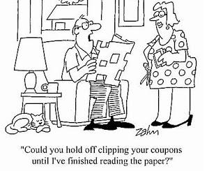 Coupons - cartoon
