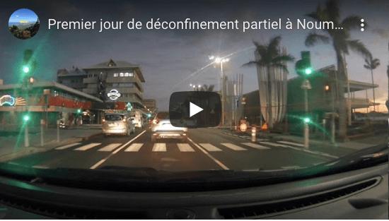 En video : Nouméa, le premier jour du déconfinement partiel