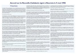 TRISTE ANNIVERSAIRE DE L'ACCORD DE NOUMEA : CLIVAGES PROFONDS, DESTINS DIVERGENTS