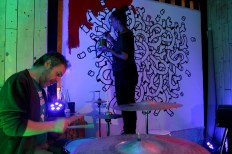 #Noumeda #live #painting #wall #art #Florence