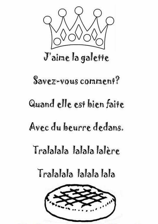 Chanson J Aime La Galette : chanson, galette, Comptine, J'aime, Galette