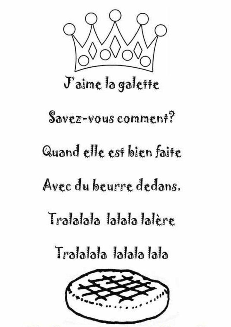 Chanson J Aime La Galette : chanson, galette, Comptine, J'aime, Galette, Illustrée, Nounoudunord