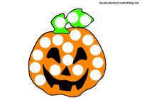 Coloriage Gommette Halloween Coloriage Halloween A