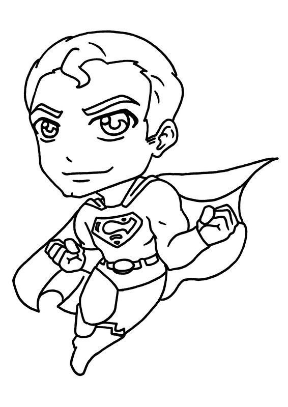 Dessin De Super-héros : dessin, super-héros, Coloriages, Super, Heros