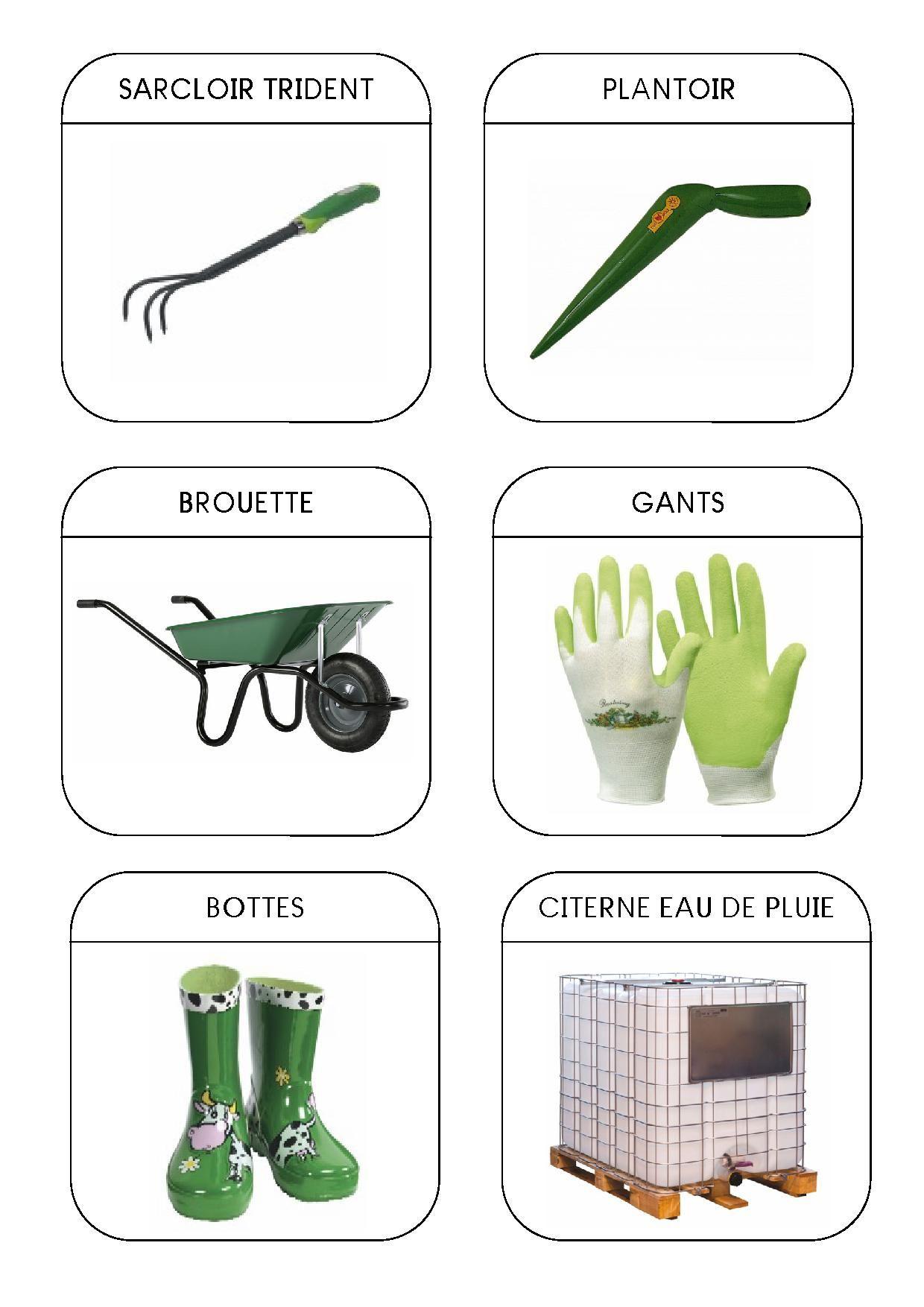 Emejing Outils De Jardinage Avec Un M Contemporary - House Design ...